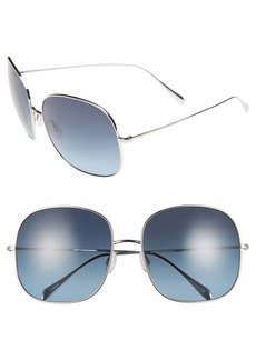 Oliver Peoples 'Daisy' 60mm Polarized Sunglasses