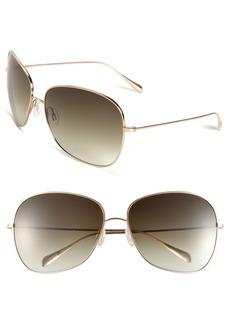 Oliver Peoples 'Elsie' 64mm Metal Sunglasses