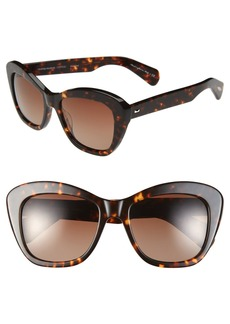 Oliver Peoples 'Emmy' 55mm Gradient Polarized Sunglasses