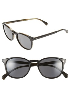 Oliver Peoples 'Finley' 51mm Polarized Sunglasses