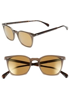 Oliver Peoples 'L.A. Coen Sun' 49mm Sunglasses