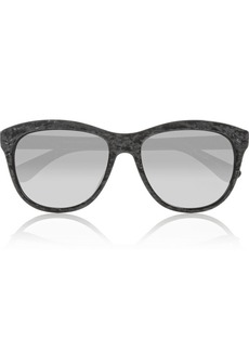 Oliver Peoples Reigh D-frame acetate sunglasses