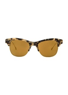Oliver Peoples WEST Hobson Polarized Sunglasses in Metallic Gold