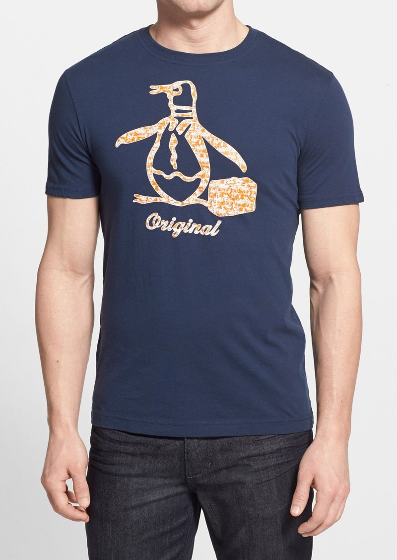 Original penguin original penguin 39 hawaiian pete 39 graphic for Hawaiian graphic t shirts