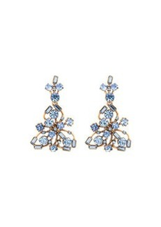 Crystal Firework Drop Earrings   Crystal Firework Drop Earrings