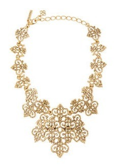 Filigree Bib Necklace   Filigree Bib Necklace
