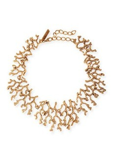 Golden Coral Branch Necklace   Golden Coral Branch Necklace
