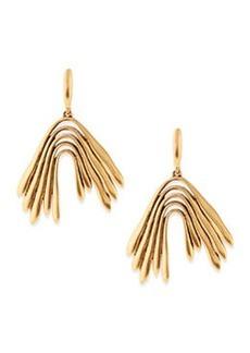 Golden Wave Drop Earrings   Golden Wave Drop Earrings