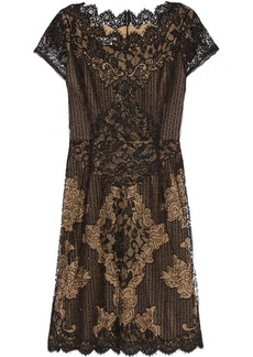 Oscar de la Renta Beaded lace dress