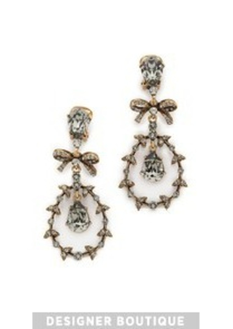 oscar de la renta oscar de la renta bow earrings jewelry