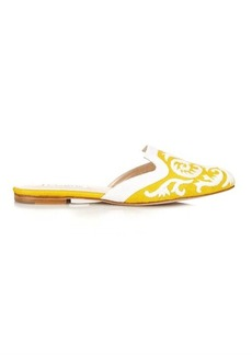 Oscar De La Renta Calista Spanish mule slippers