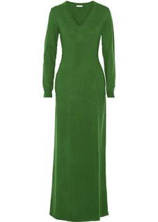 Oscar de la Renta Cashmere maxi dress