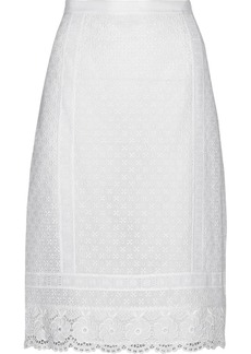 Oscar de la Renta Crocheted lace skirt