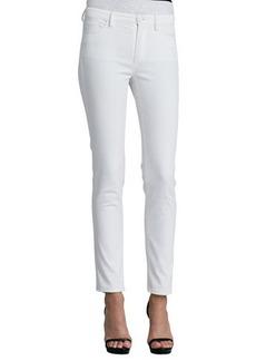 Oscar de la Renta Five-Pocket Skinny Jeans