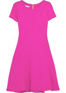 Oscar de la Renta for THE OUTNET Wool-crepe dress