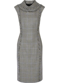 Oscar de la Renta Houndstooth wool dress