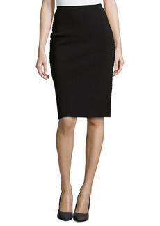 Oscar de la Renta Knit Pencil Skirt