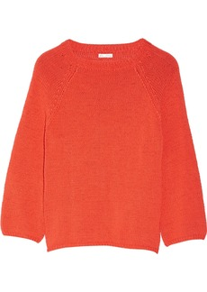 Oscar de la Renta Knitted cotton sweater