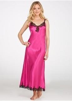 Oscar de la Renta Lace Refinement Long Gown