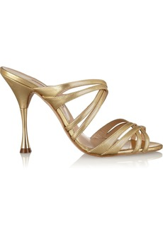 Oscar de la Renta Lilyana leather sandals
