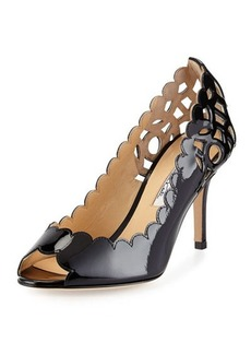 Oscar de la Renta Miss Elle Scalloped Pump