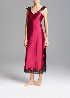 Oscar de la Renta Pink Label Lace Luster Gown