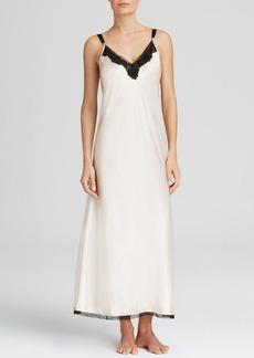 Oscar de la Renta Pink Label Long Charmeuse Gown
