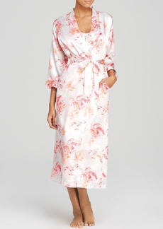 Oscar de la Renta Pink Label Night Blooms Robe