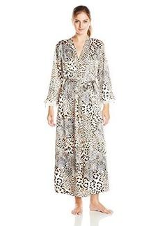 Oscar de la Renta Pink Label Women's Charmeuse Long Robe