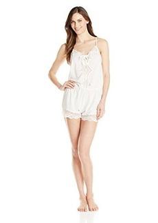 Oscar de la Renta Pink Label Women's Solid Teddy Gown