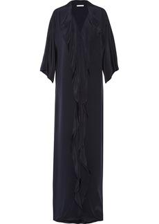 Oscar de la Renta Ruffled cotton-jersey gown