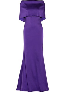 Oscar de la Renta Sateen gown
