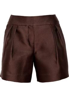 Oscar de la Renta Satin shorts