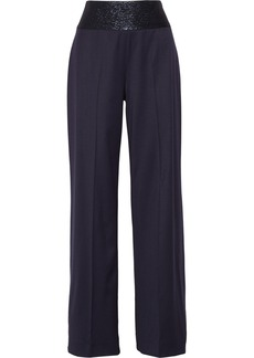 Oscar de la Renta Satin wide-leg pants