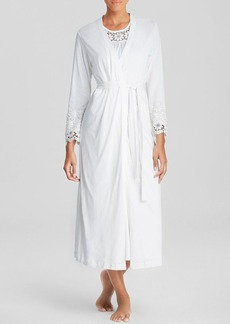 Oscar de la Renta Signature Heirloom Trellis Robe