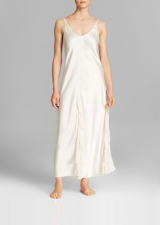 Oscar de la Renta Signature Satin Long Gown
