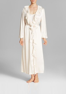 Oscar de la Renta Signature Satin Long Robe