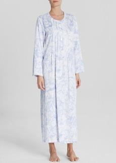Oscar de la Renta Signature Soft Magnolia Long Gown