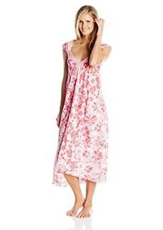 Oscar de la Renta Signature Women's Lily Print Long Gown