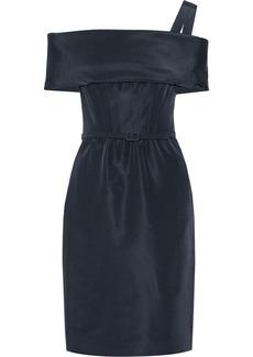 Oscar de la Renta Silk-faille dress