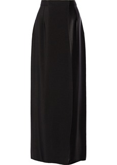 Oscar de la Renta Silk maxi skirt