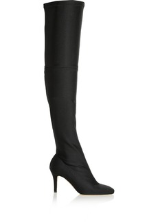 Oscar de la Renta Silvia scuba-jersey over-the-knee boots