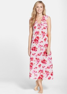 Oscar de la Renta Sleepwear 'Amourette Bouquet' Nightgown
