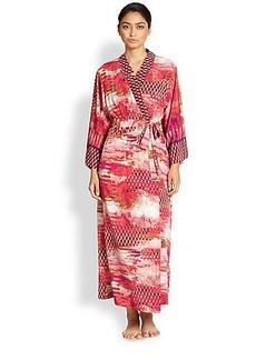 Oscar de la Renta Sleepwear Arabian Sunset Robe
