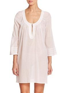 Oscar de la Renta Sleepwear Cotton Lawn Sleepshirt