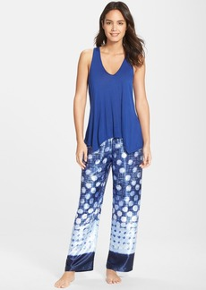 Oscar de la Renta Sleepwear 'Lemongrass' Pajamas