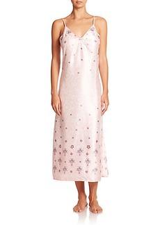 Oscar de la Renta Sleepwear Printed Gown