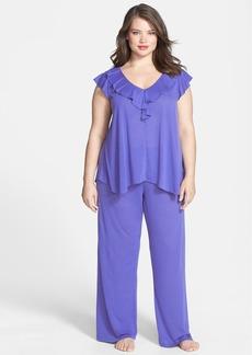 Oscar de la Renta 'Soft Focus' Pajamas (Plus Size)