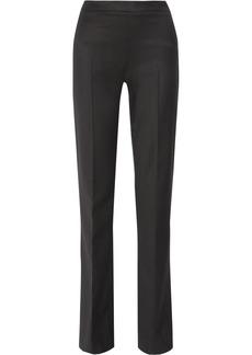 Oscar de la Renta Stretch-wool straight-leg pants