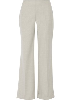 Oscar de la Renta Stretch-wool wide-leg pants